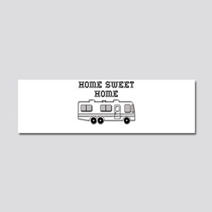 Home Sweet Home Motorhome Car Magnet 10 x 3