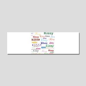 KISSY,KISSY,KISSY,KISSY. RESTORE Car Magnet 10 x 3