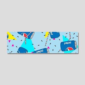 Pepsi Can Pattern Car Magnet 10 x 3