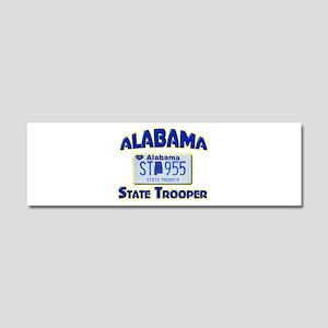 Alabama State Trooper Car Magnet 10 x 3