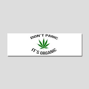 Don't Panic It's Organic Car Magnet 10 x 3