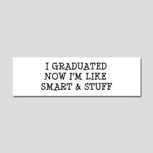 Smart & Stuff Grad Car Magnet 10 x 3