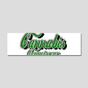 Cannabis Connoisseur Car Magnet 10 x 3