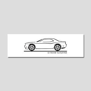 New Dodge Challenger Car Magnet 10 x 3