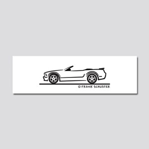 New Ford GT Mustang Convertib Car Magnet 10 x 3