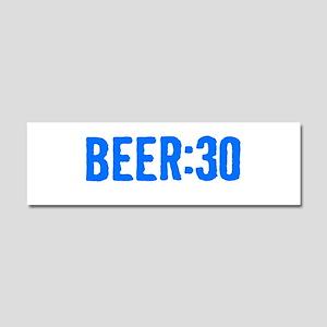 Beer:30 Car Magnet 10 x 3