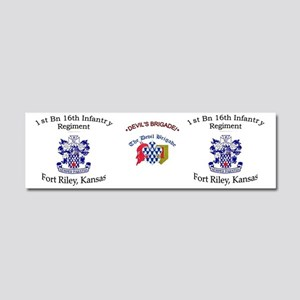 1st Bn 16th Inf mug2 Car Magnet 10 x 3