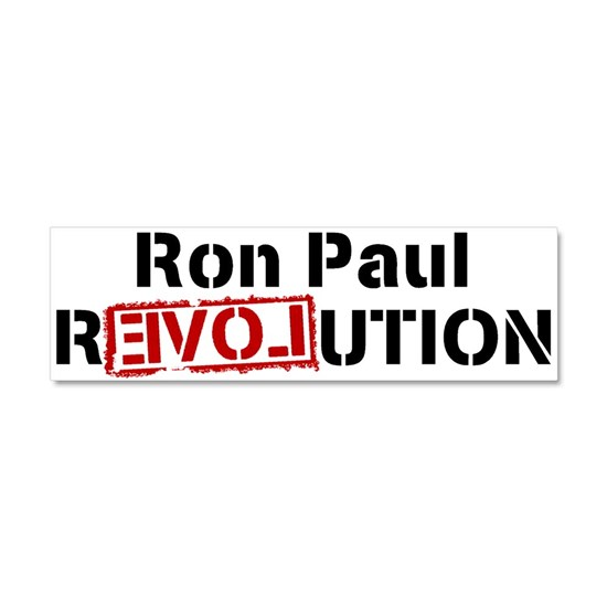PAUL rEVOLution Car Magnet 10 x 3 by shirteesdotnet