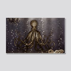 Octopus Lair Old Photo 5 X7 Area Rug By Bonniephantasm