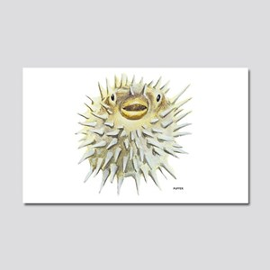 Puffer Fish Car Magnet 20 x 12