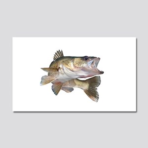 walleye Car Magnet 20 x 12