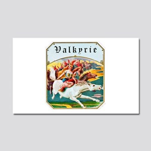 Valkyrie Cigar Label Car Magnet 20 x 12