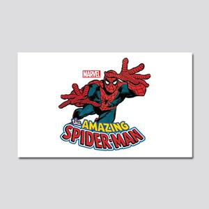 The Amazing Spiderman Car Magnet 20 x 12