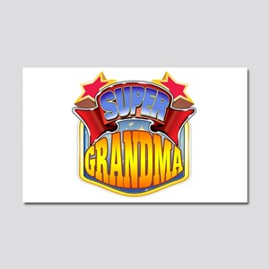 Super Grandma Car Magnet 20 x 12