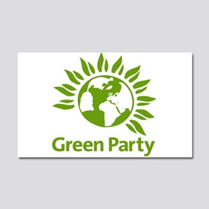 The Green Party Car Magnet 20 x 12