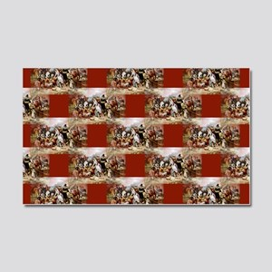 Happy Thanksgiving Yall Shell Bling >> Gobble Gobble Car Door Magnets Cafepress