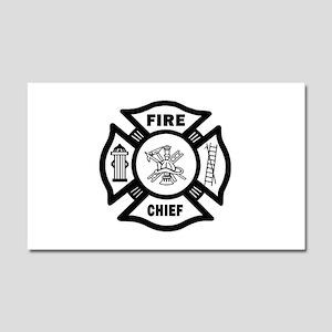 Fire Chief Car Magnet 20 x 12