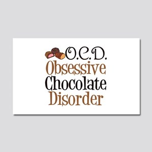 Cute Chocolate Car Magnet 20 x 12