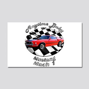 Ford Mustang Mach 1 Car Magnet 20 x 12