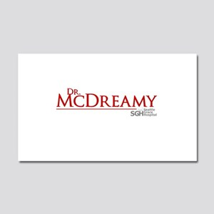 Dr. McDreamy Car Magnet 12 x 20