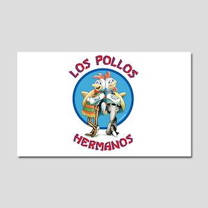 Los Pollos Hermanos Car Magnet 20 x 12