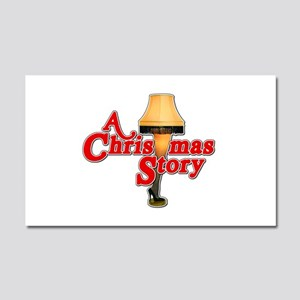 A Christmas Story Movie Lamp Car Magnet 20 x 12