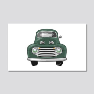 1950 Ford F1 Car Magnet 20 x 12