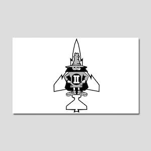 Phantom II & it's Gears Car Magnet 20 x 12