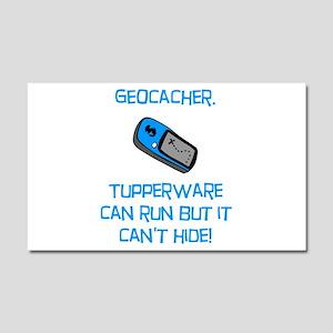 Geocacher Tupperware Car Magnet 20 x 12