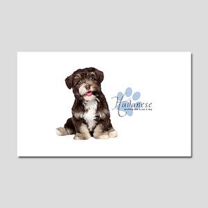 Havanese Puppy Car Magnet 20 x 12