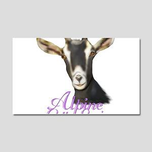 Alpine Goat Gotta Love'em Car Magnet 12 x 20