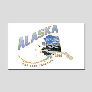 Alaska Last Frontier Car Magnet 20 X 12
