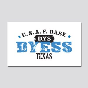 Dyess Air Force Base Car Magnet 20 x 12