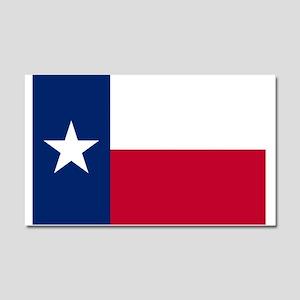 Texas flag Car Magnet 20 x 12