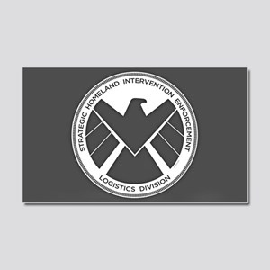 Metal Shield Car Magnet 20 x 12