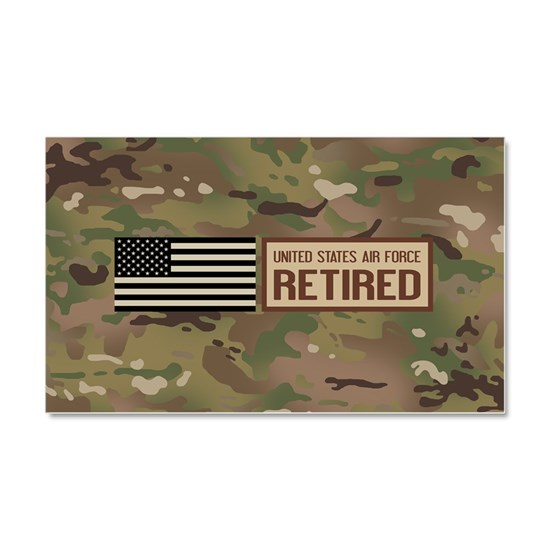 U.S. Air Force: Retired (Camo)