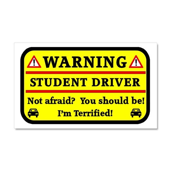 Warning Student Driver