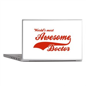 World's Most Awesome Doctor Laptop Skins