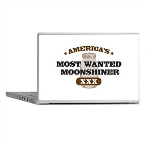 Most Wanted Moonshiner Laptop Skins