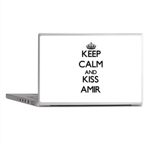 Keep Calm and Kiss Amir Laptop Skins