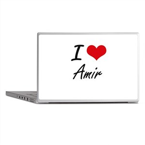 I Love Amir Laptop Skins