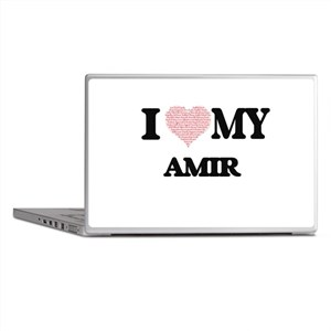 I Love my Amir (Heart Made from Love Laptop Skins