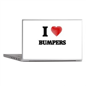 I Love BUMPERS Laptop Skins
