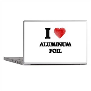 I love Aluminum Foil Laptop Skins