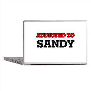 Addicted to Sandy Laptop Skins