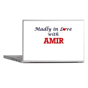 Madly in love with Amir Laptop Skins