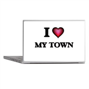 I love My Town Laptop Skins