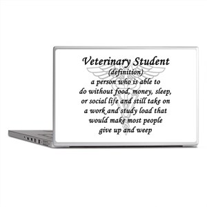 Veterinary Student Definition Laptop Skins