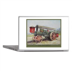 The Minneapolis Steam Tractor Laptop Skins