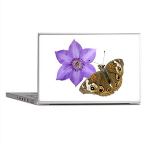 Squirrel Butterfly Flower Laptop Skins